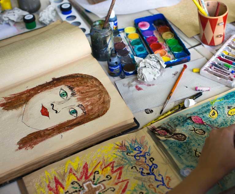 werkstatt für Malerei